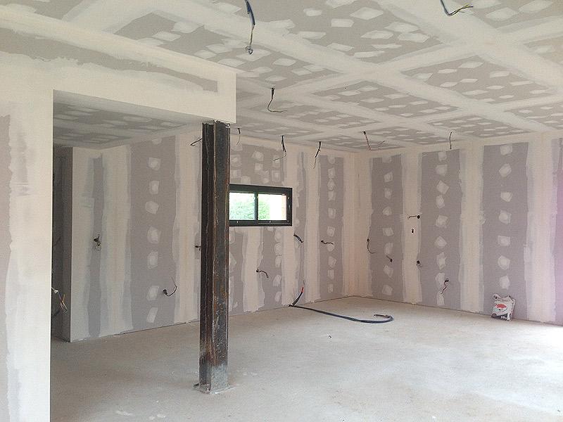 doublage de mur thermo acoustique placostil angers maine. Black Bedroom Furniture Sets. Home Design Ideas