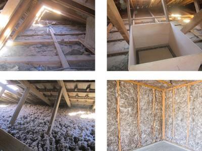 poser de la laine de verre perfect plancher grenier pas cher avec pose de la laine de verre. Black Bedroom Furniture Sets. Home Design Ideas